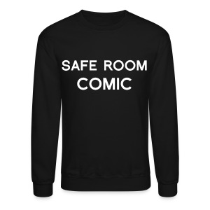 Safe Room Comic - Cake - Crewneck Sweatshirt