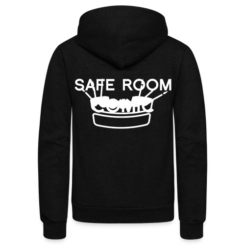 Safe Room Comic - Cake - Unisex Fleece Zip Hoodie