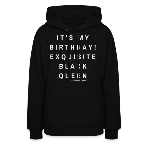 BlackQueenBirthdayShirt