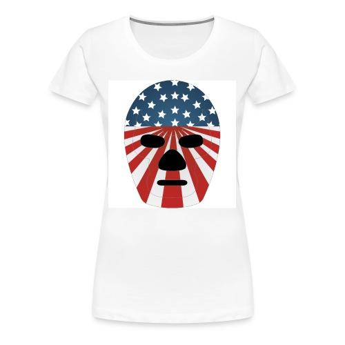 LuchaProUSA Mask - Women's Premium T-Shirt