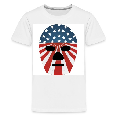 LuchaProUSA Mask - Kids' Premium T-Shirt