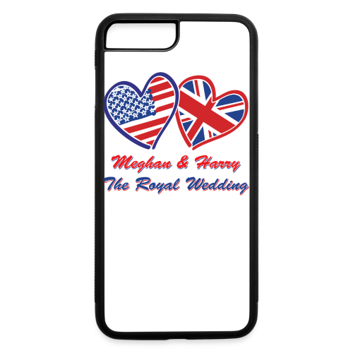 Meghan and Harry The Royal Wedding - iPhone 7 Plus/8 Plus Rubber Case