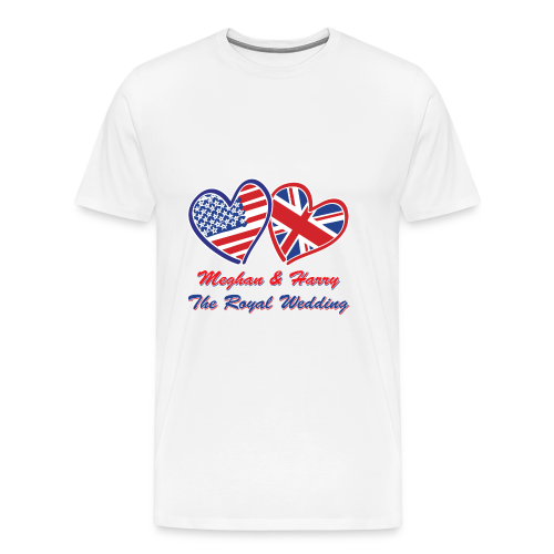 Meghan and Harry The Royal Wedding - Men's Premium T-Shirt