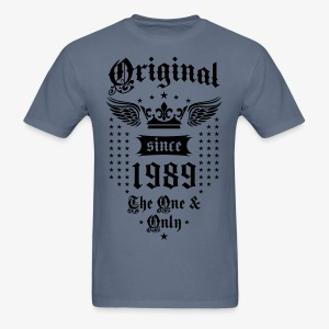Original Since 1989 The One and Only Crown Wings T-Shirt - Men's T-Shirt