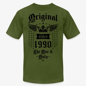 Original Since 1990 The One and Only Crown Wings T-Shirt - Men's Fine Jersey T-Shirt