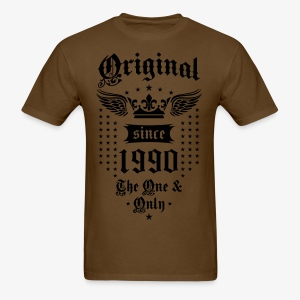 Original Since 1990 The One and Only Crown Wings T-Shirt - Men's T-Shirt