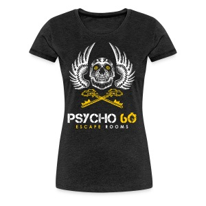 Psycho 60 Skull & Wings - Women's Premium T-Shirt