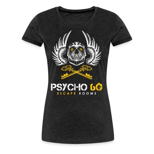 Psycho 60 Skull & Wings - Women's Premium T-Shirt