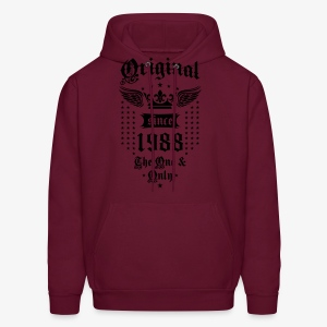 Original Since 1988 The One and Only Crown Wings T-Shirt - Men's Hoodie
