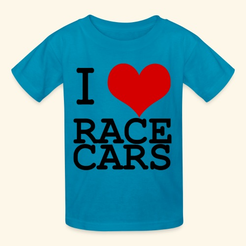 I Love Race Cars