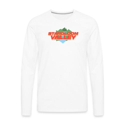 white stargloom valley - Men's Premium Long Sleeve T-Shirt