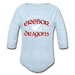 Erebor Dragons - Long Sleeve Baby Bodysuit
