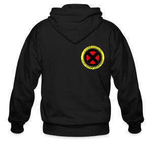 Xavier Institute (Small Logo) - Crew-neck - Men's Zip Hoodie