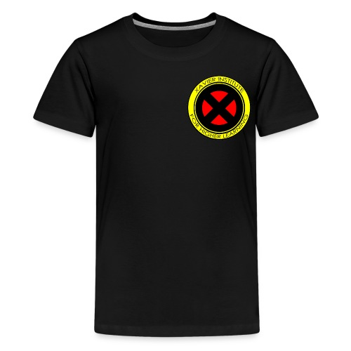 Xavier Institute (Small Logo) - Crew-neck - Kids' Premium T-Shirt
