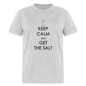 Keep Calm and Get the Salt - Crew-neck - Men's T-Shirt