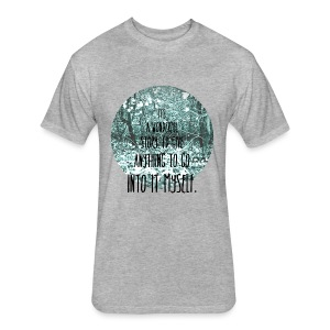 Inkheart Quote - Crew-neck - Fitted Cotton/Poly T-Shirt by Next Level