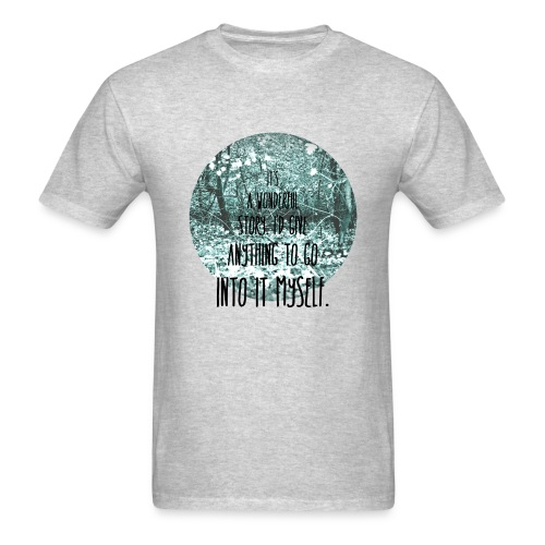 Inkheart Quote - Crew-neck - Men's T-Shirt