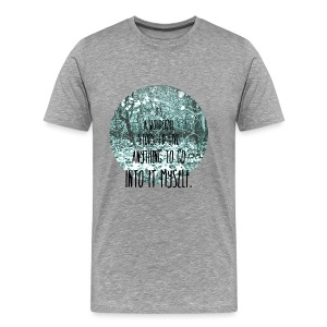 Inkheart Quote - Crew-neck - Men's Premium T-Shirt