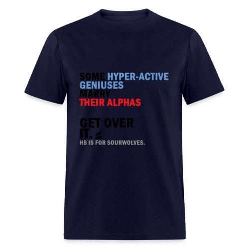 Sterek Against H8 - Crew-neck - Men's T-Shirt