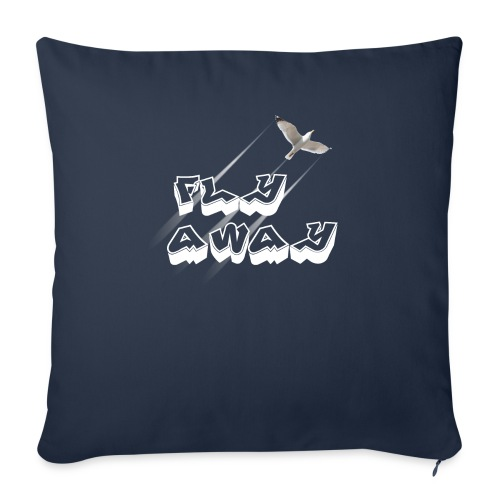 Fly away - Throw Pillow Cover