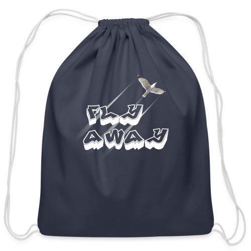 Fly away - Cotton Drawstring Bag