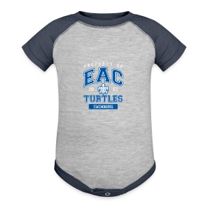 EAC Turtles - Baby Contrast One Piece