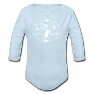 Le Petit Chef - Long Sleeve Baby Bodysuit