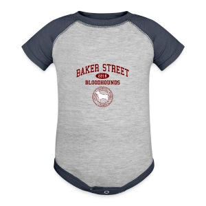 Baker Street Bloodhounds - Baby Contrast One Piece