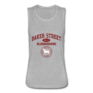 Baker Street Bloodhounds - Women's Flowy Muscle Tank by Bella