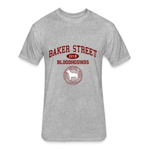 Baker Street Bloodhounds - Fitted Cotton/Poly T-Shirt by Next Level