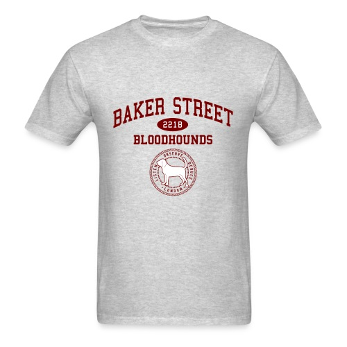 Baker Street Bloodhounds - Men's T-Shirt