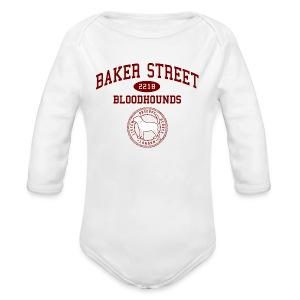 Baker Street Bloodhounds - Long Sleeve Baby Bodysuit