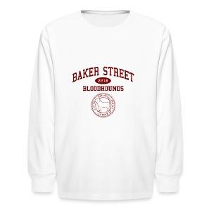 Baker Street Bloodhounds - Kids' Long Sleeve T-Shirt