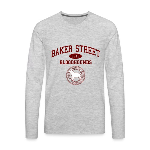 Baker Street Bloodhounds - Men's Premium Long Sleeve T-Shirt