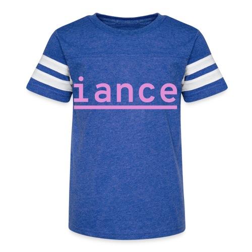 iance logo shirt - Kid's Vintage Sport T-Shirt