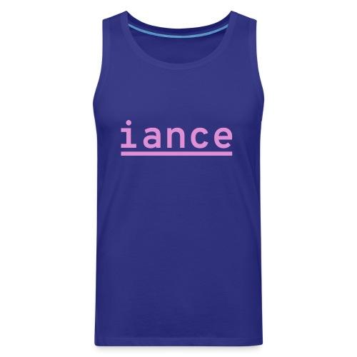 iance logo shirt - Men's Premium Tank