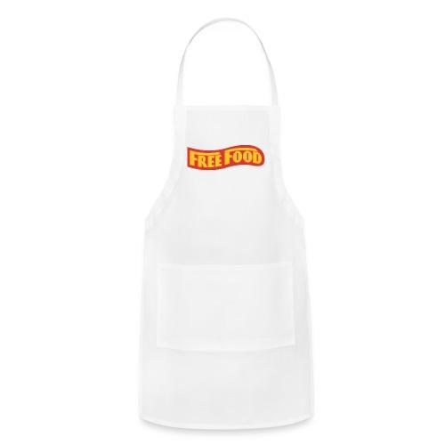 Free Food logo shirt - Adjustable Apron