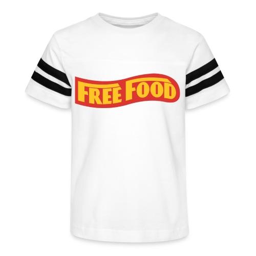 Free Food logo shirt - Kid's Vintage Sport T-Shirt
