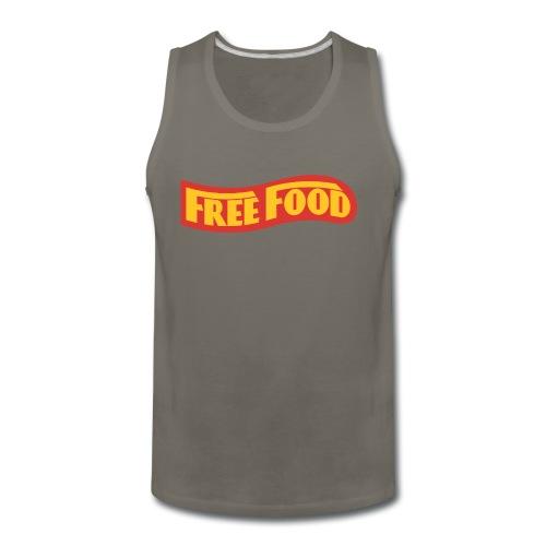 Free Food logo shirt - Men's Premium Tank