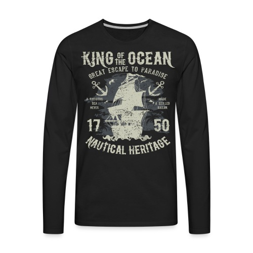 King of the Ocean - Men's Premium Long Sleeve T-Shirt