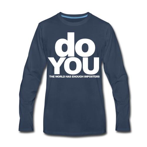 No More Imposters - Men's Premium Long Sleeve T-Shirt
