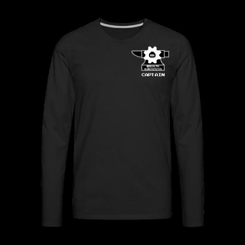 PowerUp 806 (Captain's Version) - Men's Premium Long Sleeve T-Shirt