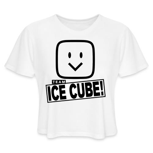 Team IC! hanger shirt - Women's Cropped T-Shirt