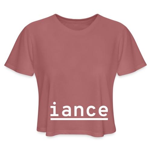 iance hanger shirt - Women's Cropped T-Shirt