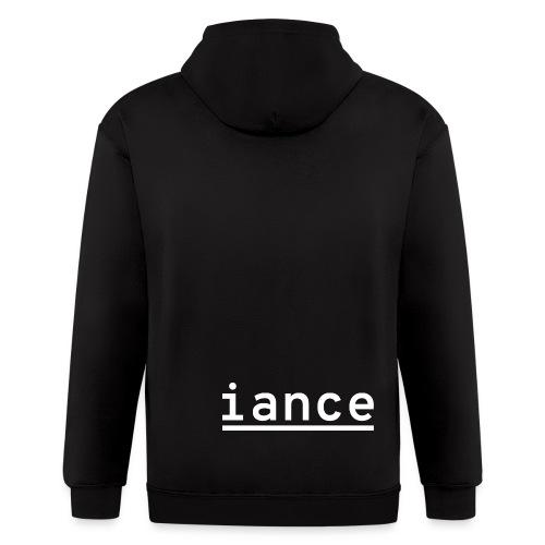 iance hanger shirt - Men's Zip Hoodie