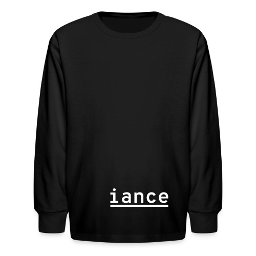 iance hanger shirt - Kids' Long Sleeve T-Shirt