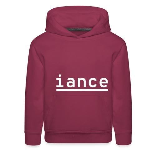 iance hanger shirt - Kids' Premium Hoodie