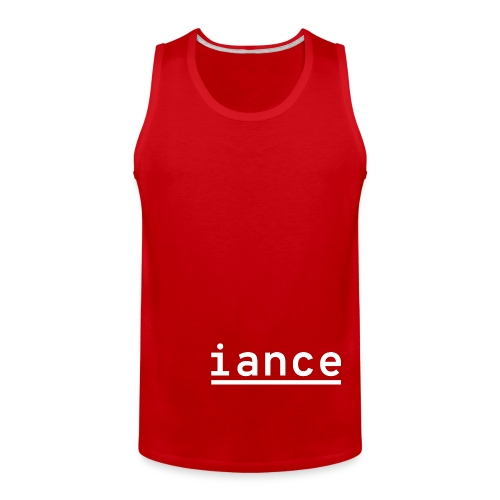 iance hanger shirt - Men's Premium Tank