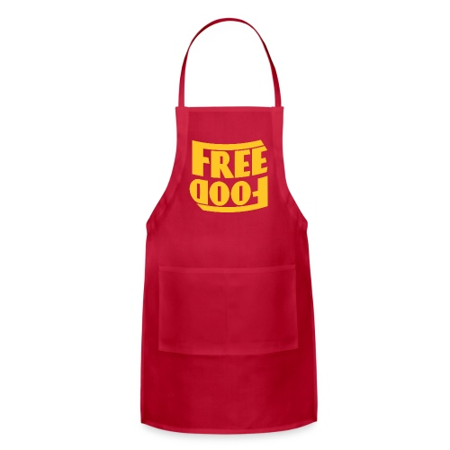 Free Food hanger shirt - Adjustable Apron