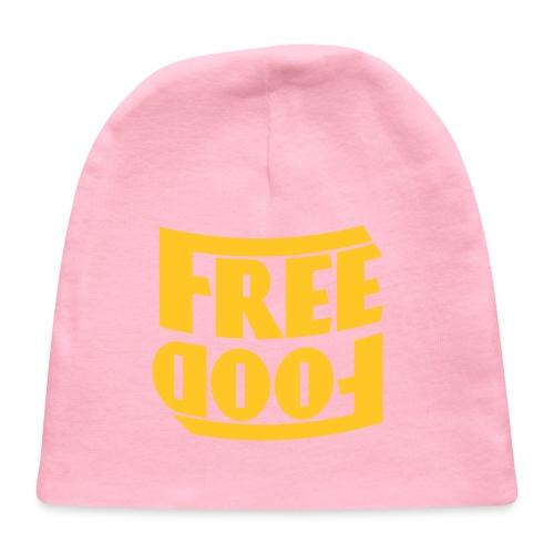 Free Food hanger shirt - Baby Cap